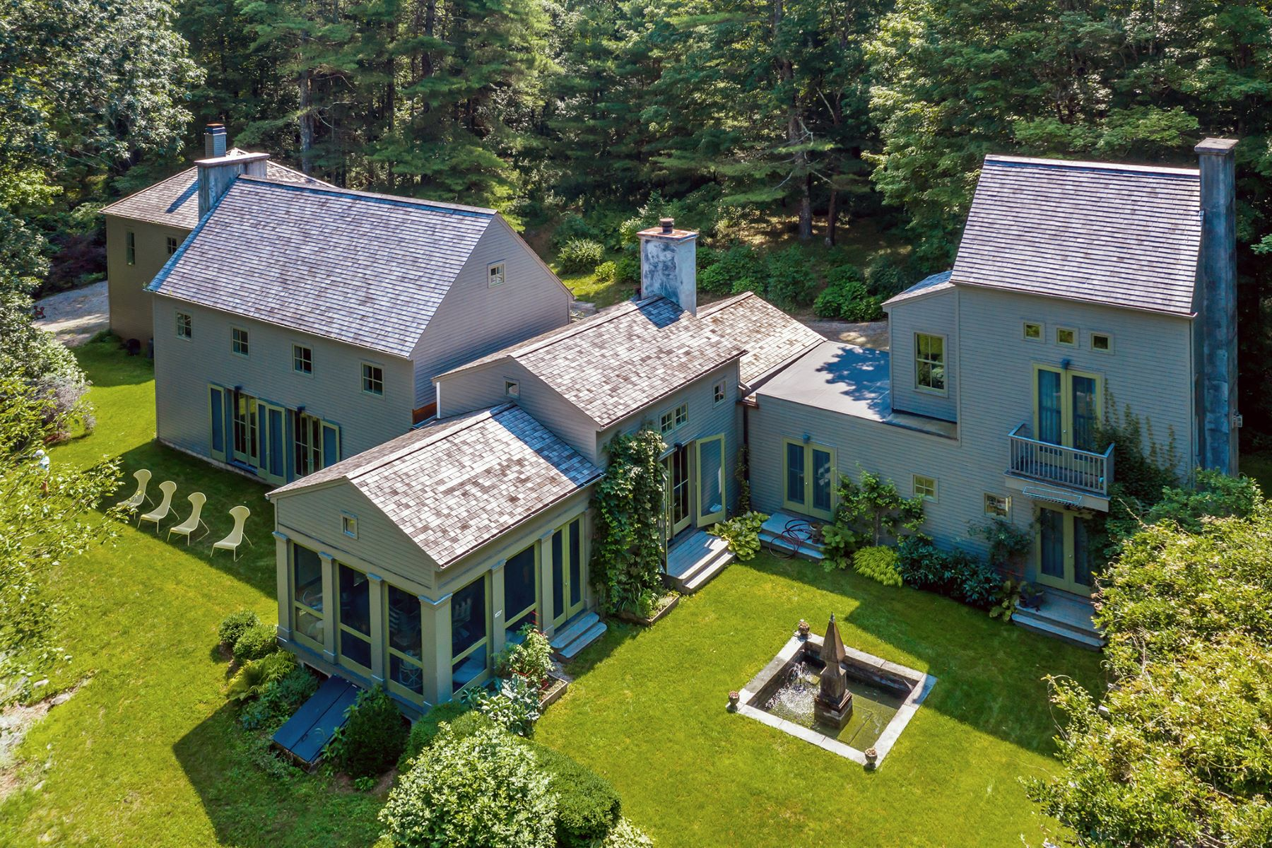 Single Family Homes for Sale at River Run 146 Kent Road South Cornwall, Connecticut 06754 United States