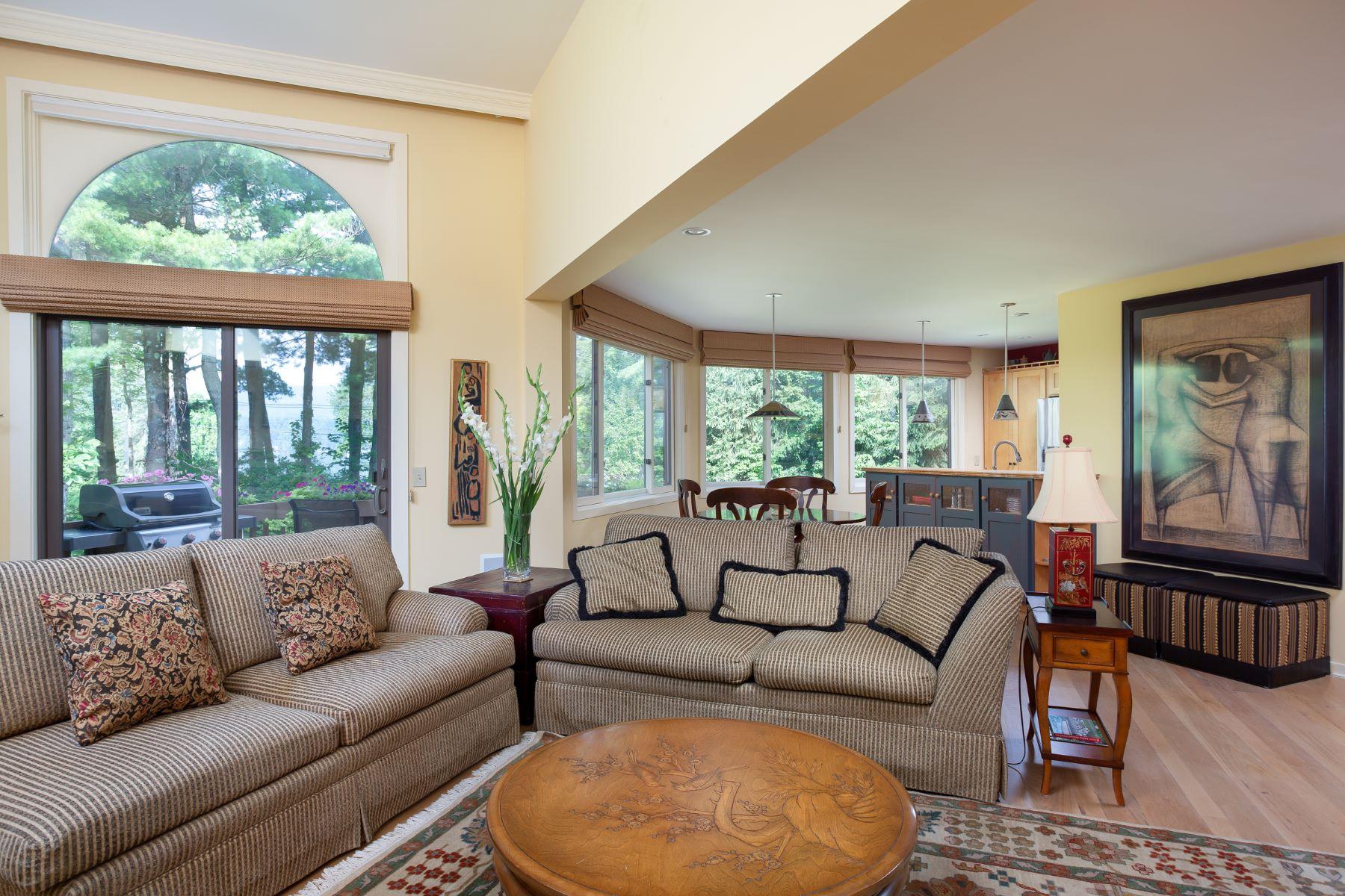 Single Family Home for Active at Lakeside Villa with Stockbridge Bowl Views 23 Hawthorne Rd 14B Stockbridge, Massachusetts 01262 United States
