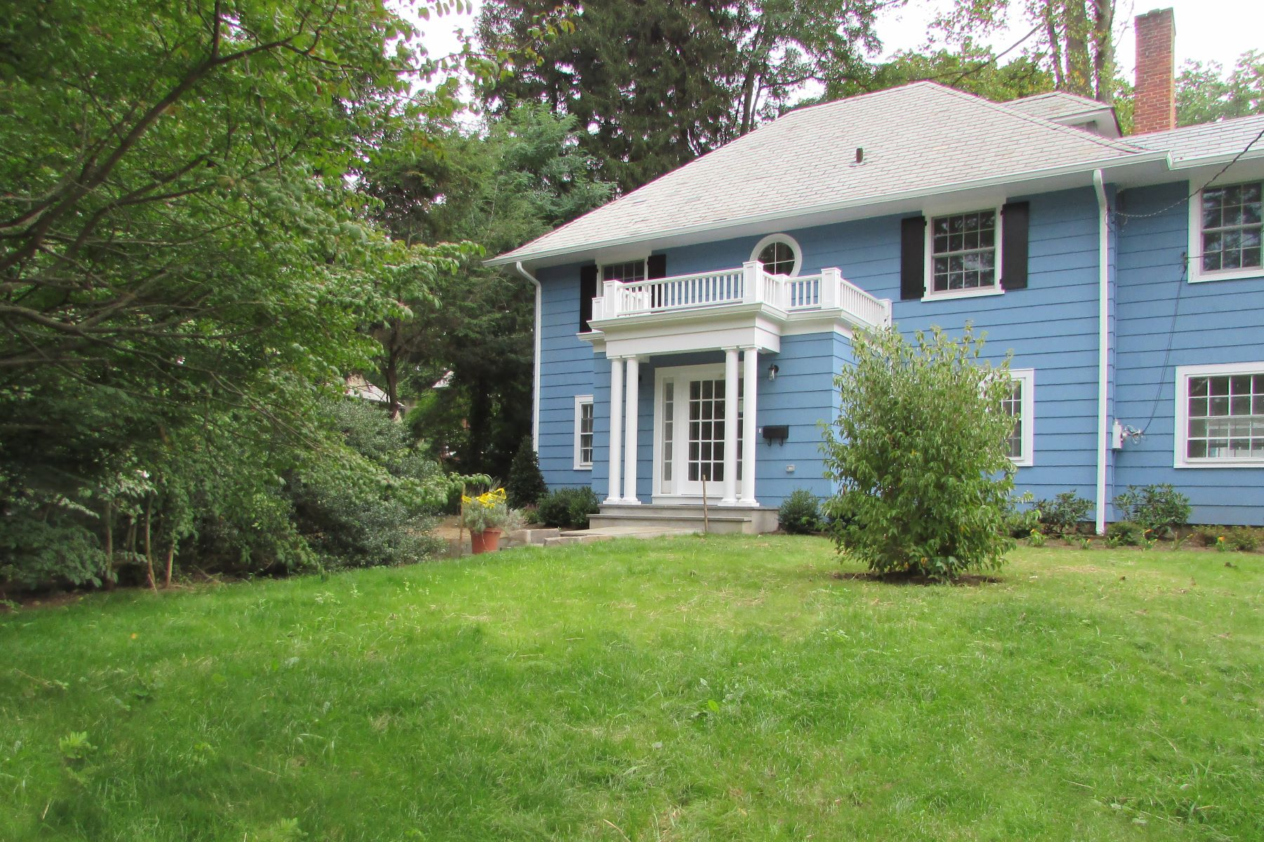 Single Family Home for Rent at Newly Expanded, Renovated Center Hall Colonial 5 Lockwood Road Scarsdale, New York 10583 United States