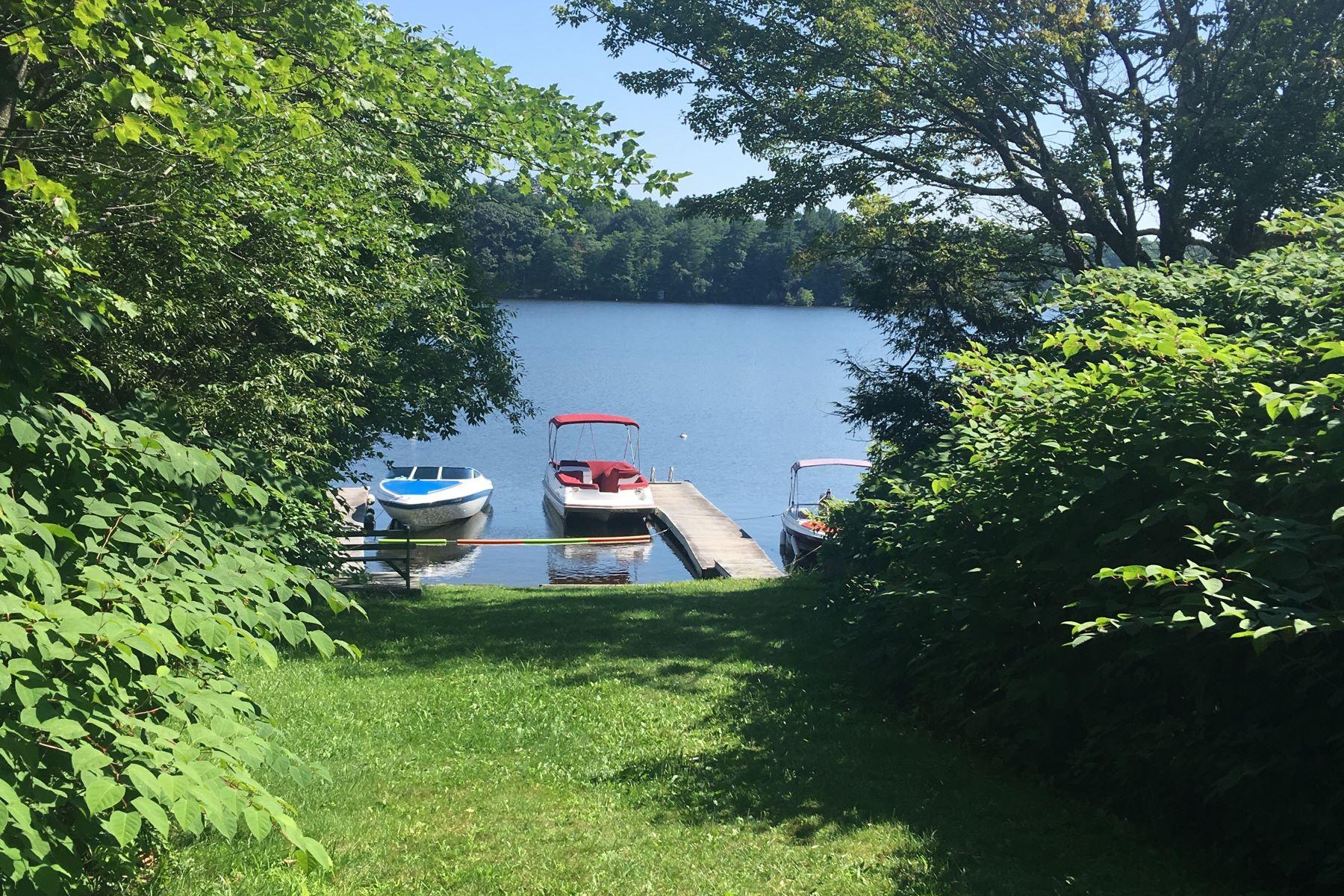土地,用地 为 销售 在 Water Access to Otis Reservoir Lot 2 Pine Rd Otis, 马萨诸塞州 01253 美国