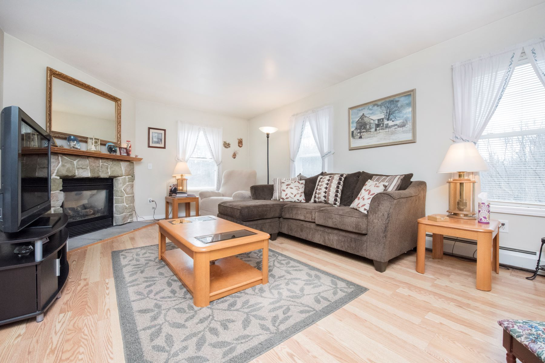 Single Family Homes for Sale at Spacious Cape with Distant Views 1474 County Rd Sheffield, Massachusetts 01257 United States
