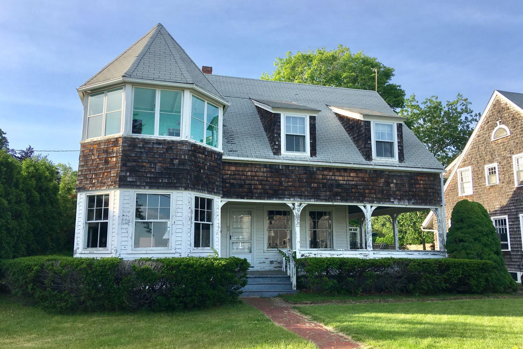 Частный односемейный дом для того Продажа на 99 Middle Beach Road Madison, Коннектикут, 06443 Соединенные Штаты