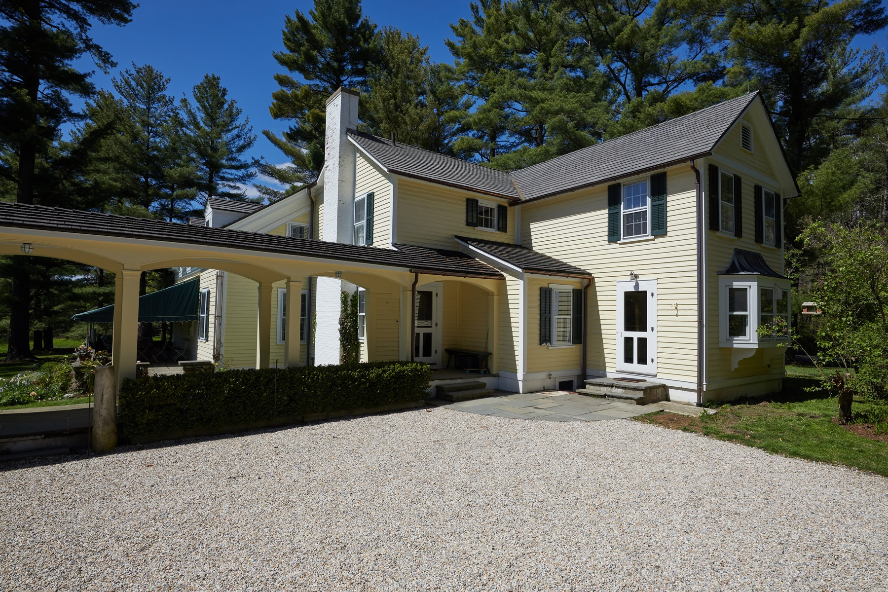 Single Family Homes for Active at Beautifully Restored Modern Farmhouse on 6 Acres, near Stockbridge and Lenox 95 Devon Rd Lee, Massachusetts 01238 United States