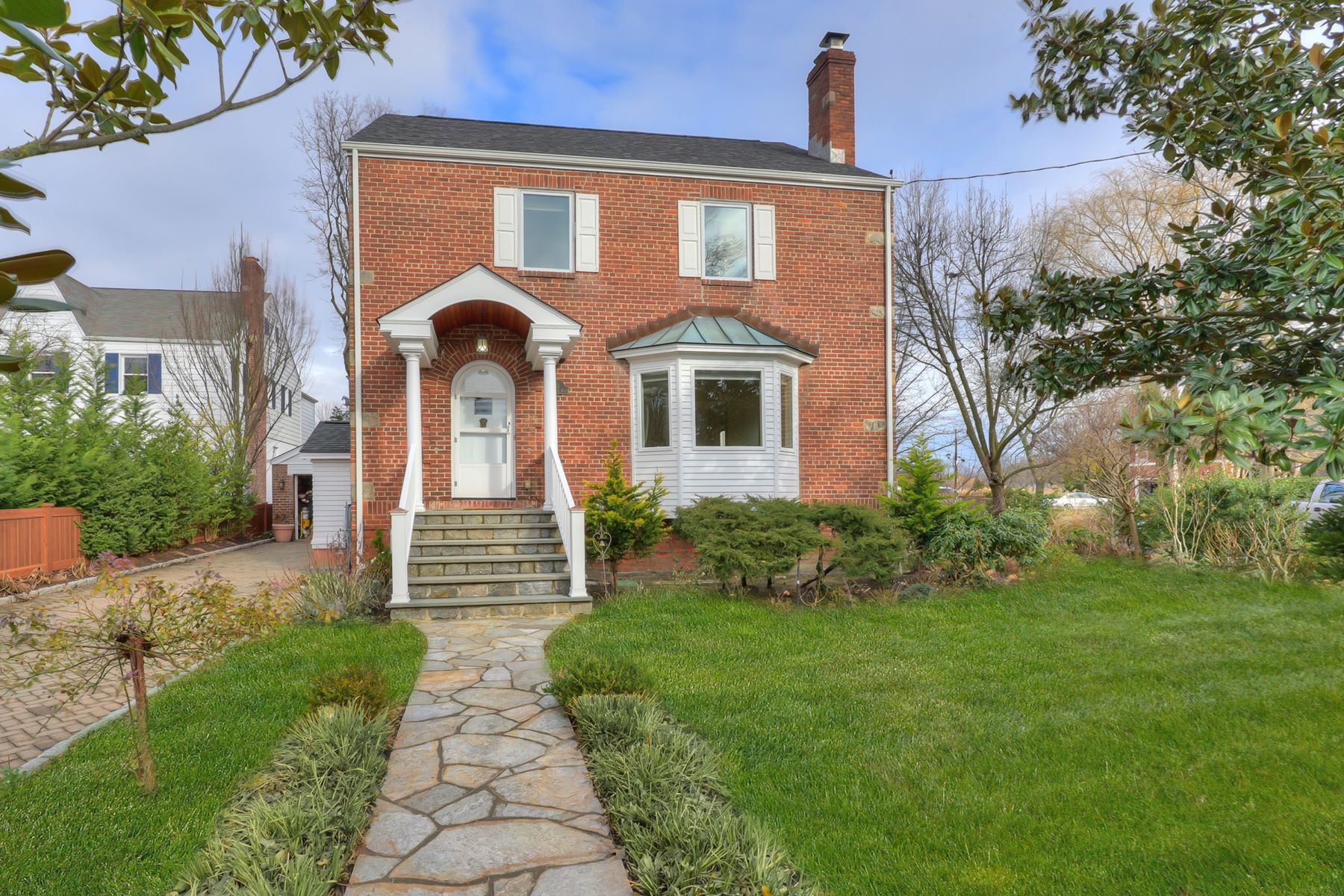 rentals property at Stately Larchmont Manor Colonial