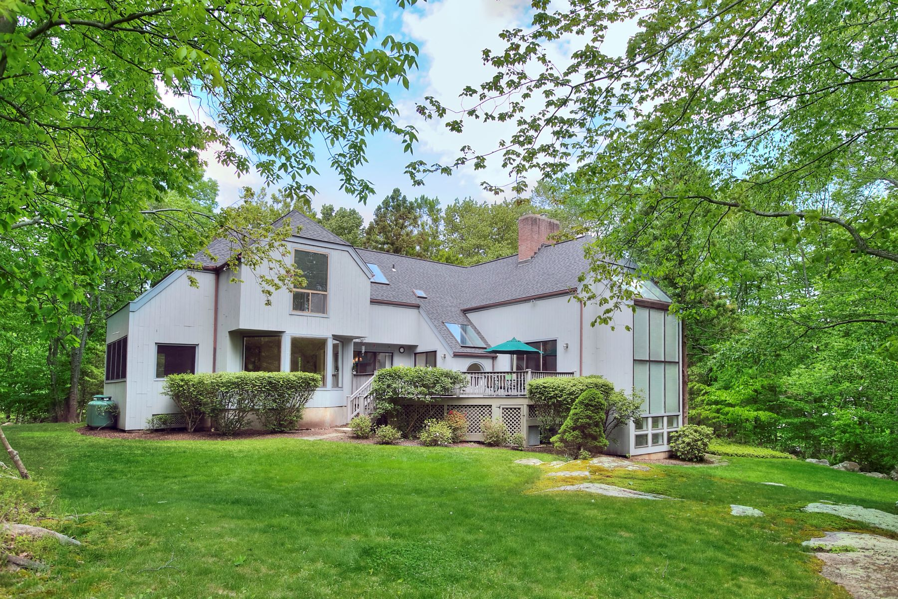 single family homes for Sale at Spectacular Contemporary in Wilton 41 Wild Duck Road, Wilton, Connecticut 06897 United States