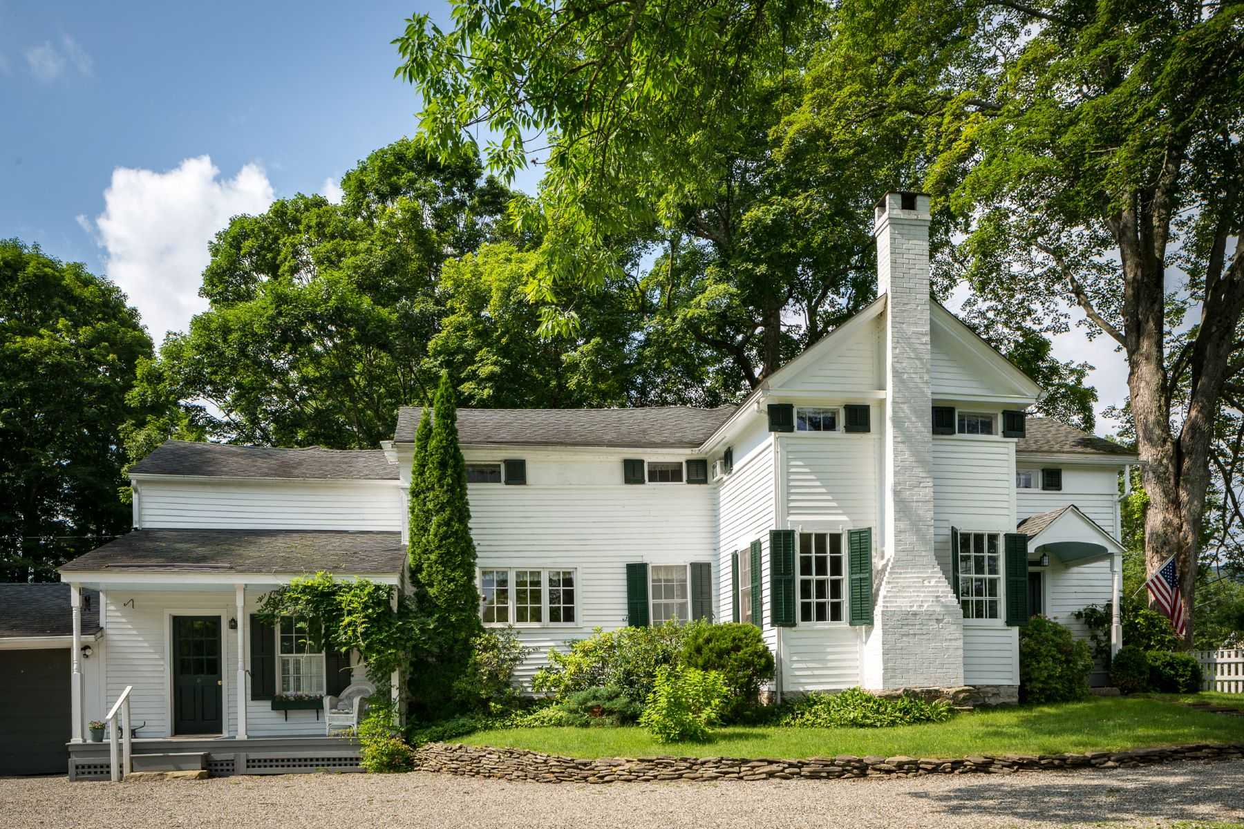 Single Family Home for Sale at A quintessential New England Colonial 120 North Main Street, Kent, Connecticut, 06757 United States
