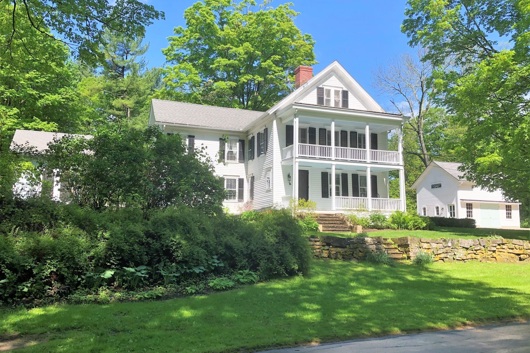 single family homes for Sale at Updated Antique on 2 acres 272 Taconic Road, Salisbury, Connecticut 06068 United States
