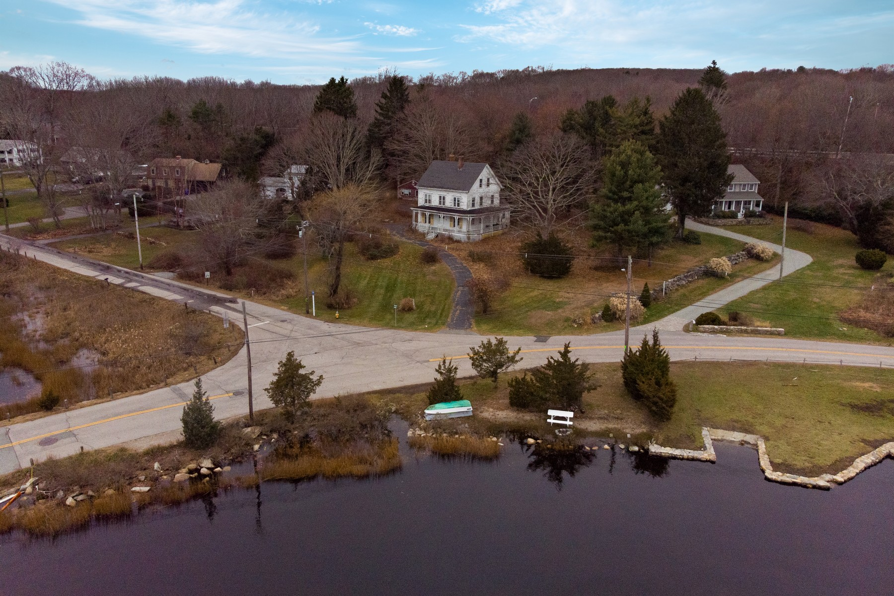 Single Family Homes for Sale at Breathtaking, Unobstructed Views 4 Bindloss Road Groton, Connecticut 06355 United States