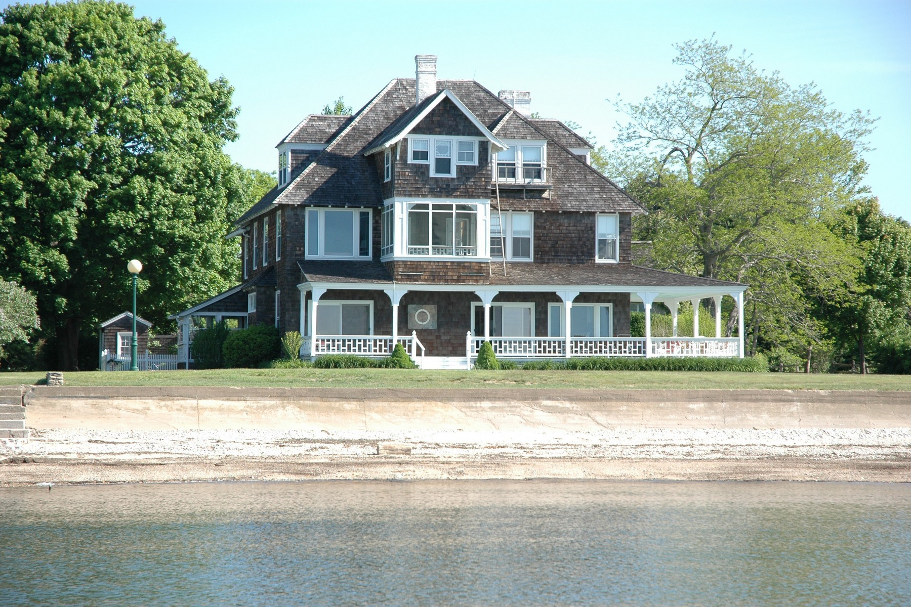 Single Family Home for Rent at Fabulous Fenwick Waterfront Rental 21 Pettipaug Avenue Old Saybrook, Connecticut, 06475 United States