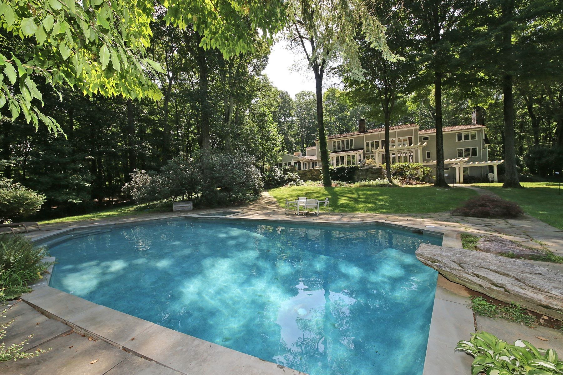 Single Family Home for Sale at Sensational Resort-like Home 99 Topstone Road Redding, Connecticut 06896 United States