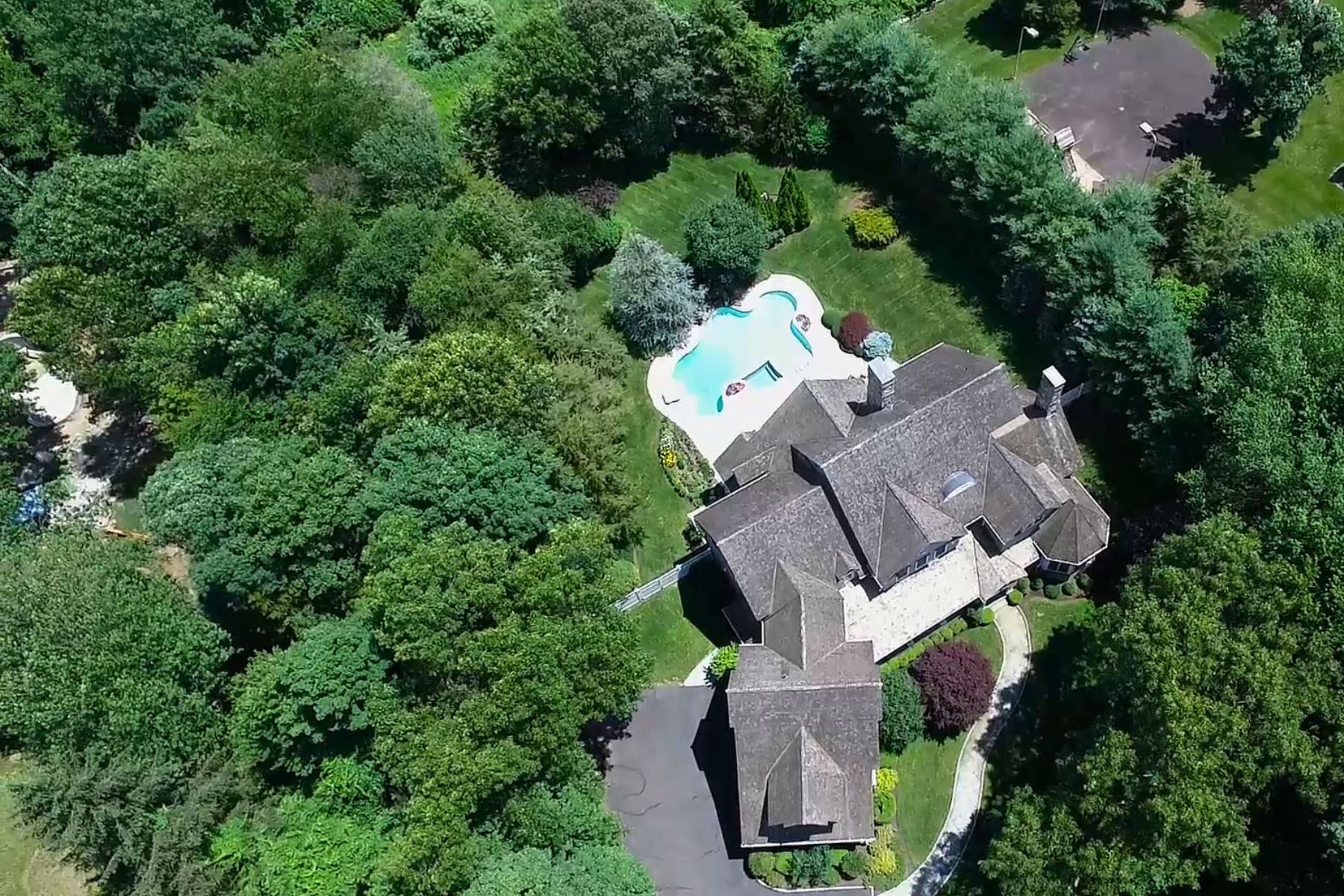 Single Family Homes for Sale at A Masterpiece 378 Nod Hill Road Wilton, Connecticut 06897 United States