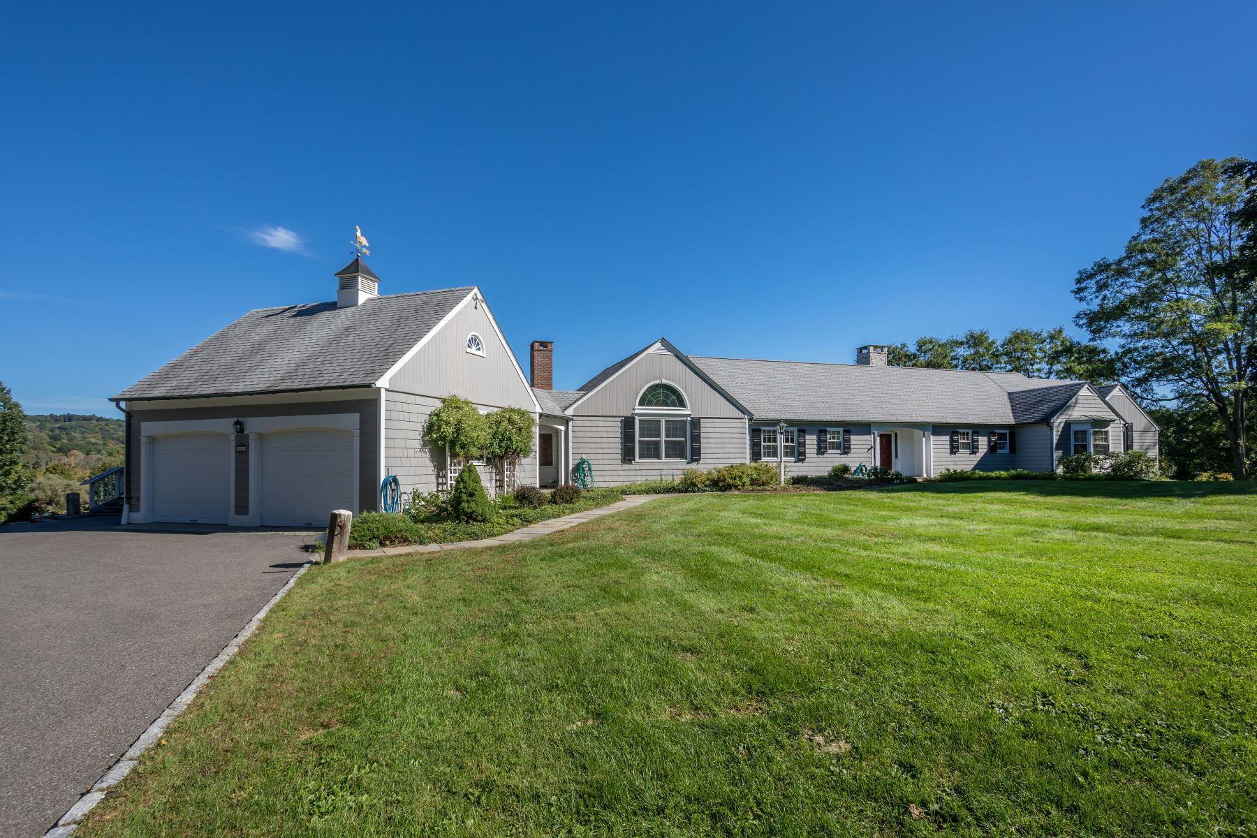 Single Family Home for Sale at Spacious Single-Level Living! 60 Hilltop Road Sharon, Connecticut 06069 United States
