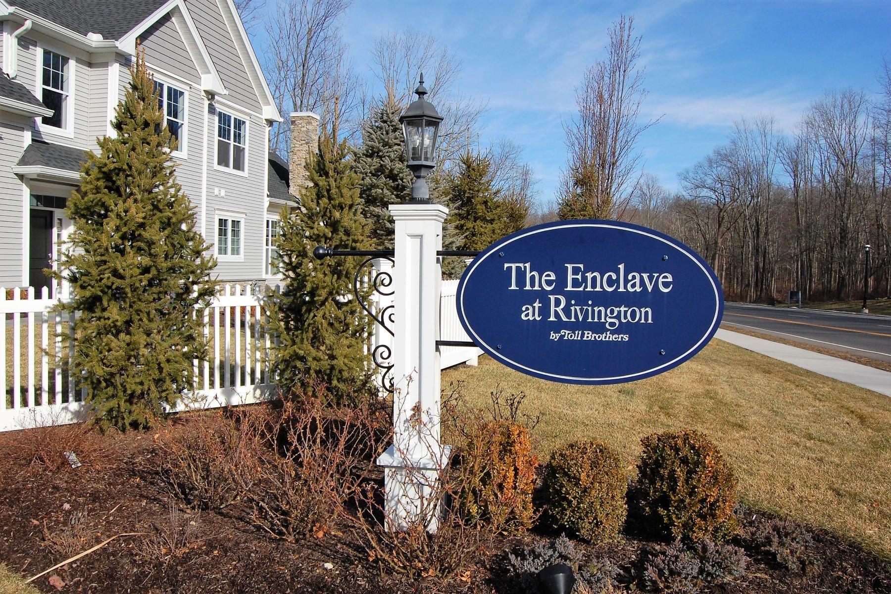 townhouses for Active at Luxurious Enclave at Rivington 18 Enclave Drive 18 Danbury, Connecticut 06810 United States