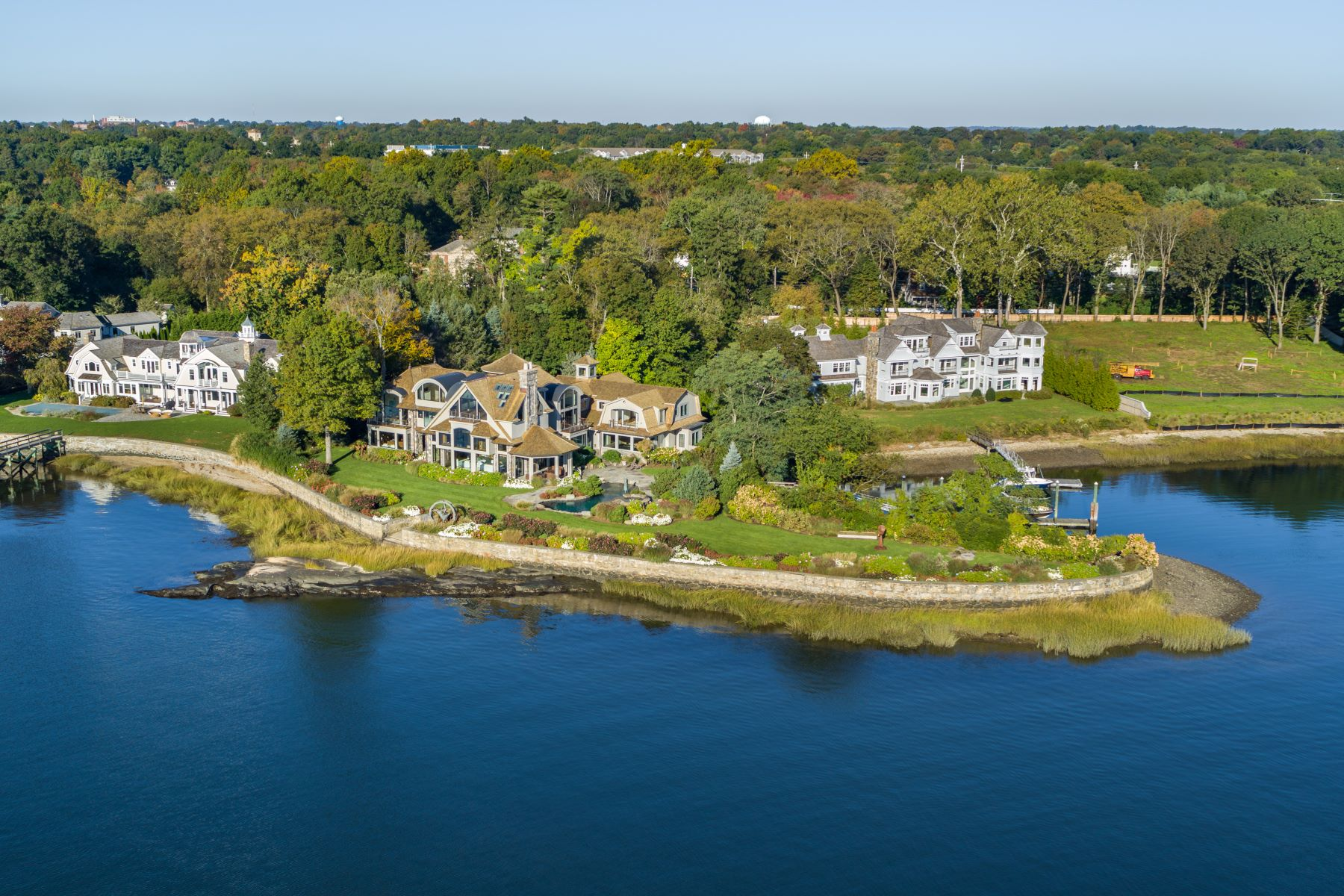 Single Family Homes for Sale at Paradise Point 5 Charmers Landing Westport, Connecticut 06880 United States