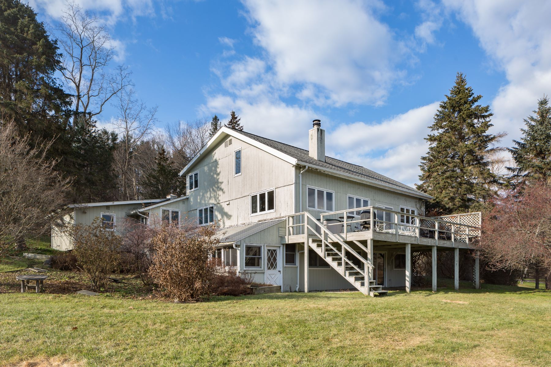 Single Family Home for Sale at Contemporary Country Retreat 1748 County Rte 5 Canaan, New York 12029 United States
