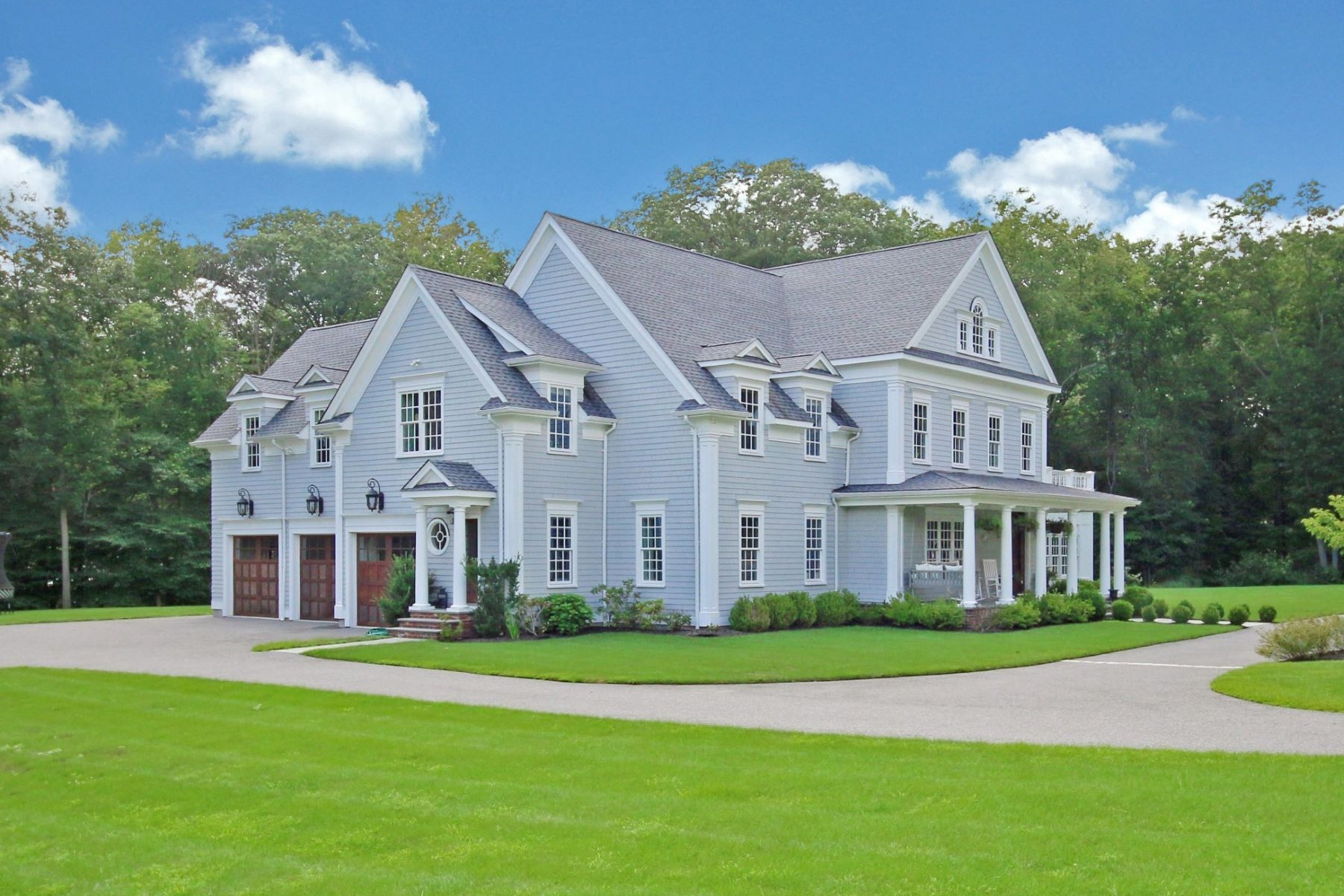 Single Family Homes for Sale at Nearly New Construction - Best of Everything 2 Pump Lane Ridgefield, Connecticut 06877 United States