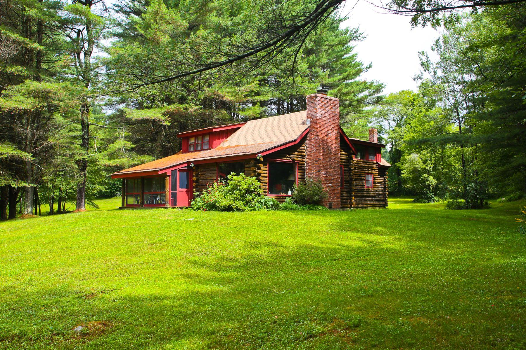 Single Family Home for Active at Rustic Home Outside Of Great Barrington Near Butternut Brett Rd Monterey, Massachusetts 01245 United States