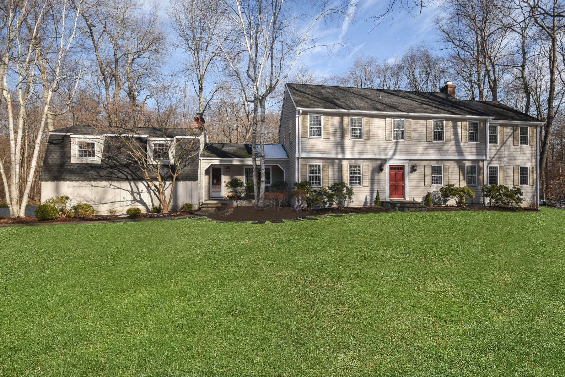 Single Family Home for Sale at Lower Weston 3 Narrow Brook Road Weston, Connecticut 06883 United States
