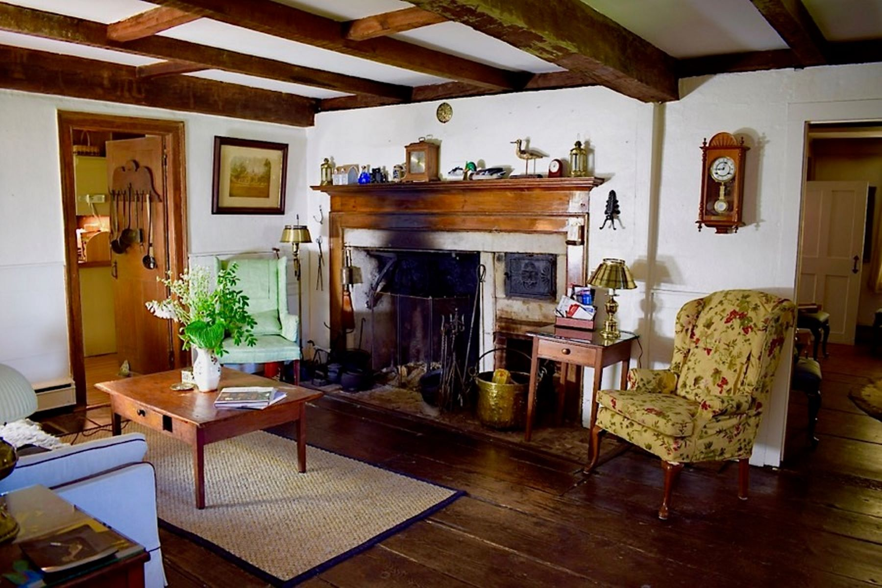 Single Family Home for Active at Beautiful Salt Box House 1189 Ashley Falls Rd Sheffield, Massachusetts 01257 United States