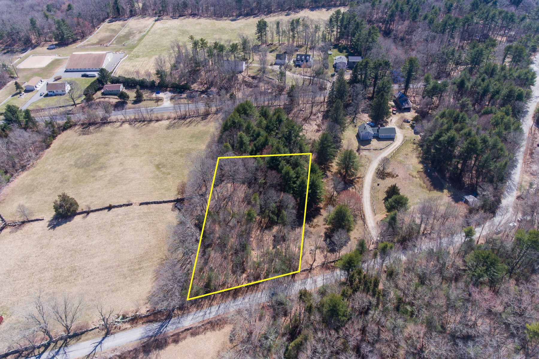 Single Family Homes for Sale at Beautiful 1.44 Acre Lot Across From Avalonia Land Trust 114 Stillman Road North Stonington, Connecticut 06359 United States