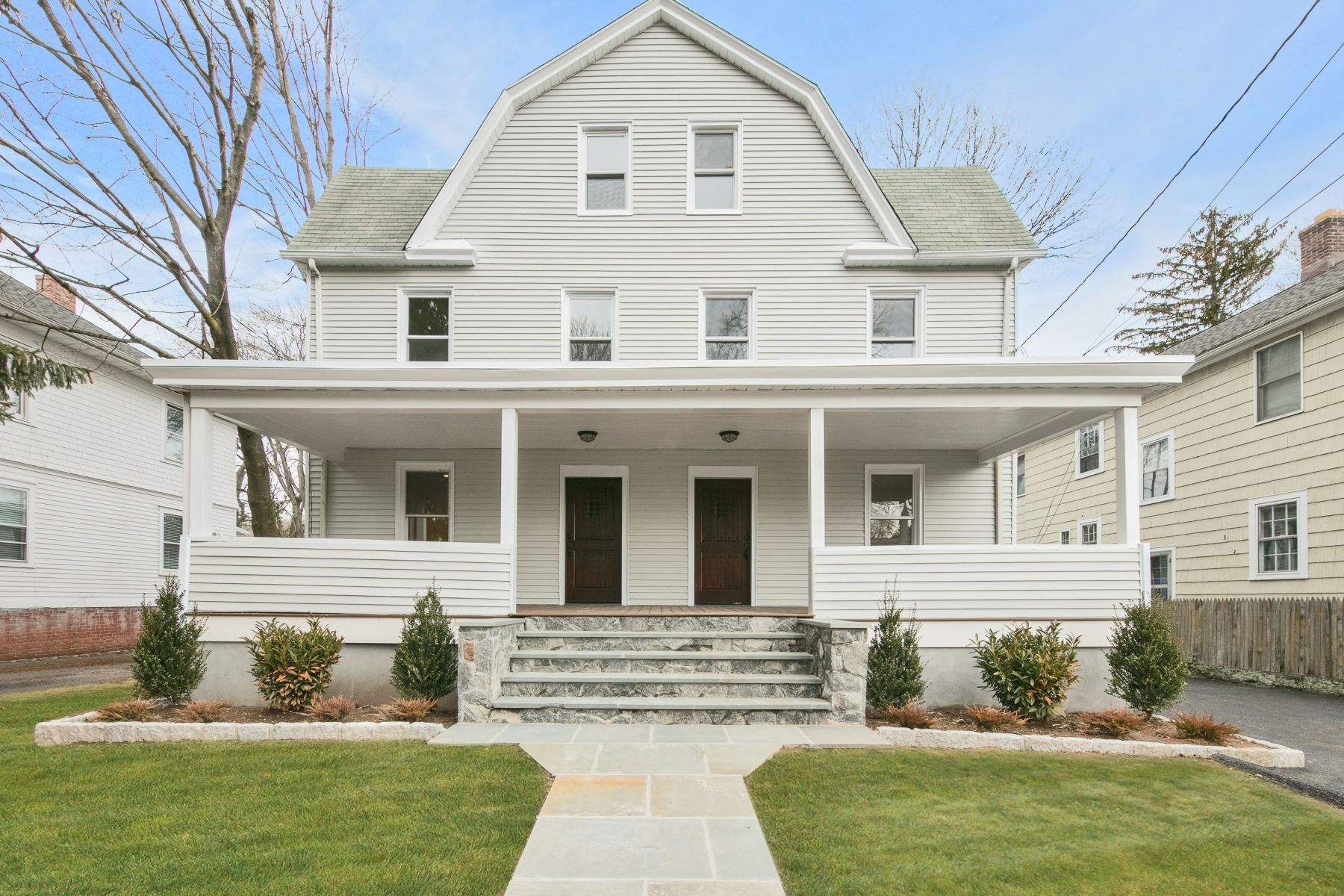 Single Family Home for Rent at Modern Victorian Townhome with Charm 49 Palisade Road, Rye, New York, 10580 United States