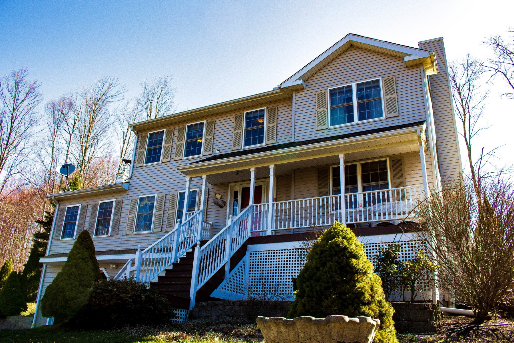 Single Family Home for Sale at Beautiful Views From Your Covered Front Porch 59 Aunt Olive Road Watertown, Connecticut 06795 United States