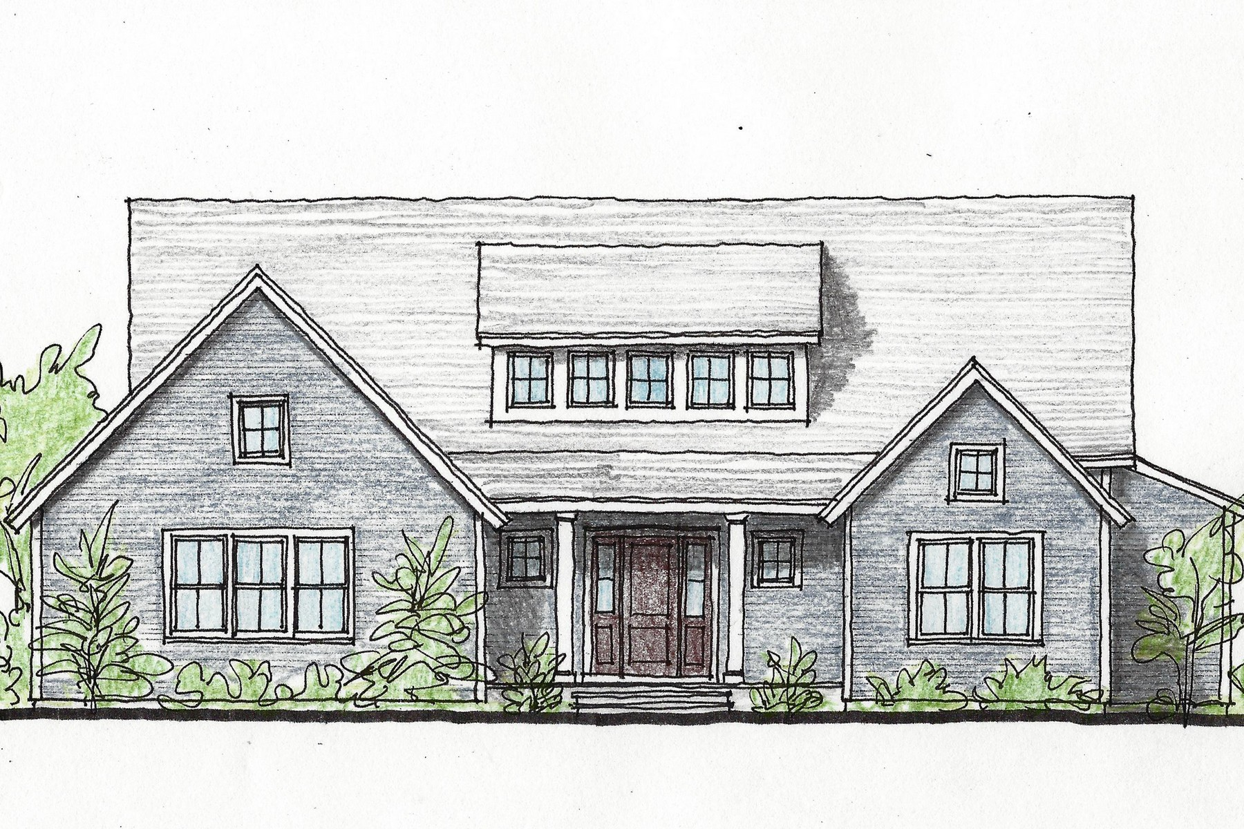 "Single Family Homes for Sale at ""Modern Farmhouse"" Ready to be Built 1a Hoopole Hill Road Deep River, Connecticut 06417 United States"