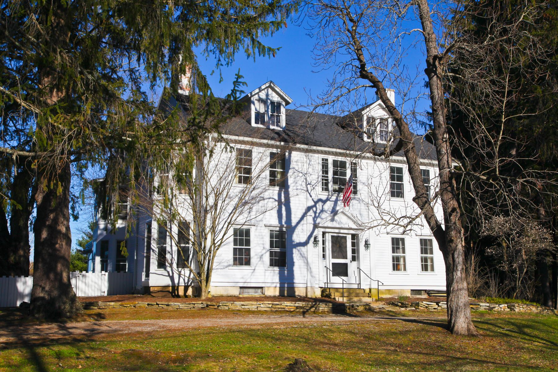 Single Family Home for Sale at Historic Splendor & Breathtaking Mountain Views 29 Prospect Hill Rd Stockbridge, Massachusetts 01262 United States