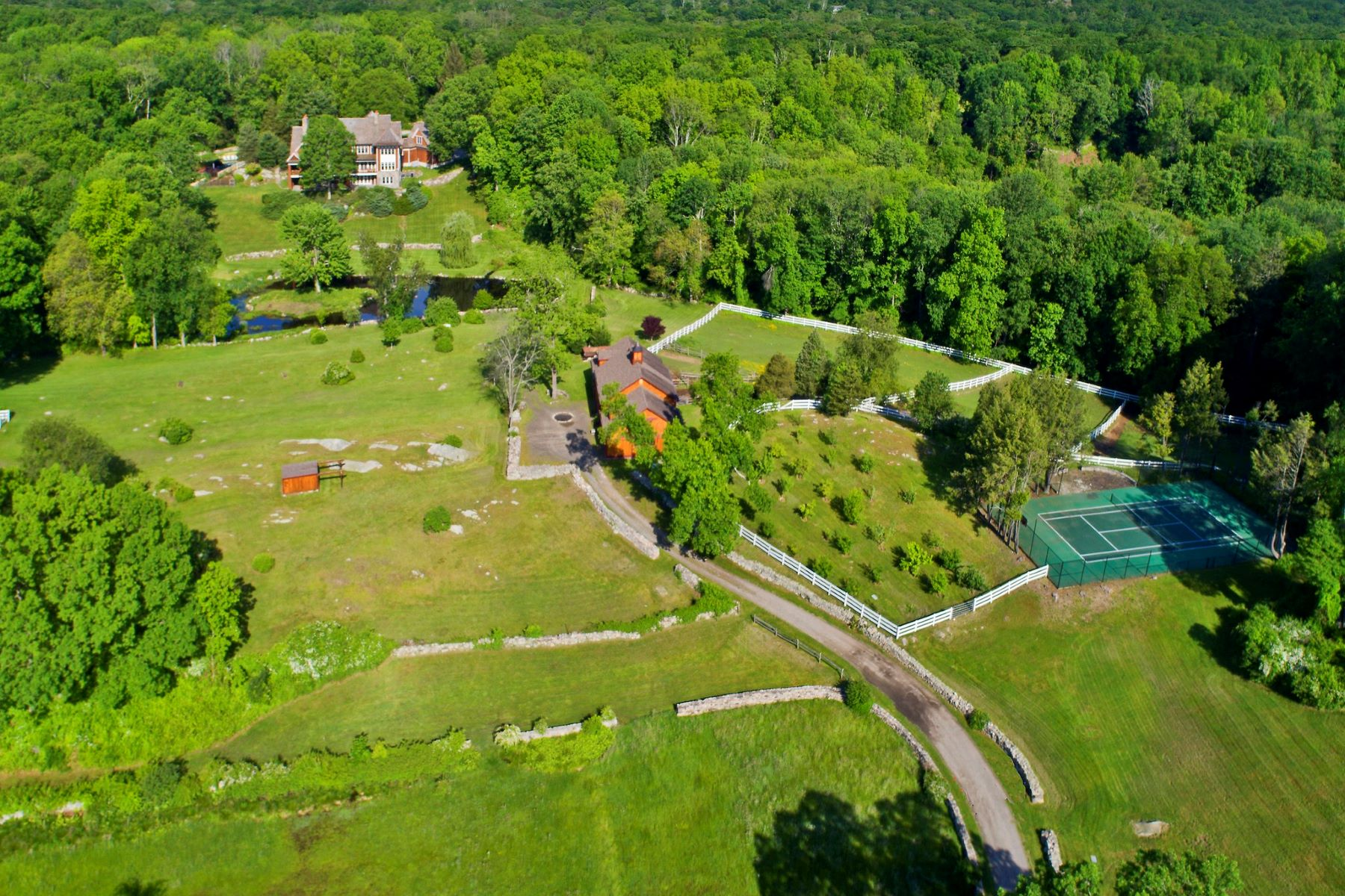 other residential homes for Sale at Horse Property for Sale 23 Carrington Drive, Greenwich, Connecticut 06831 United States