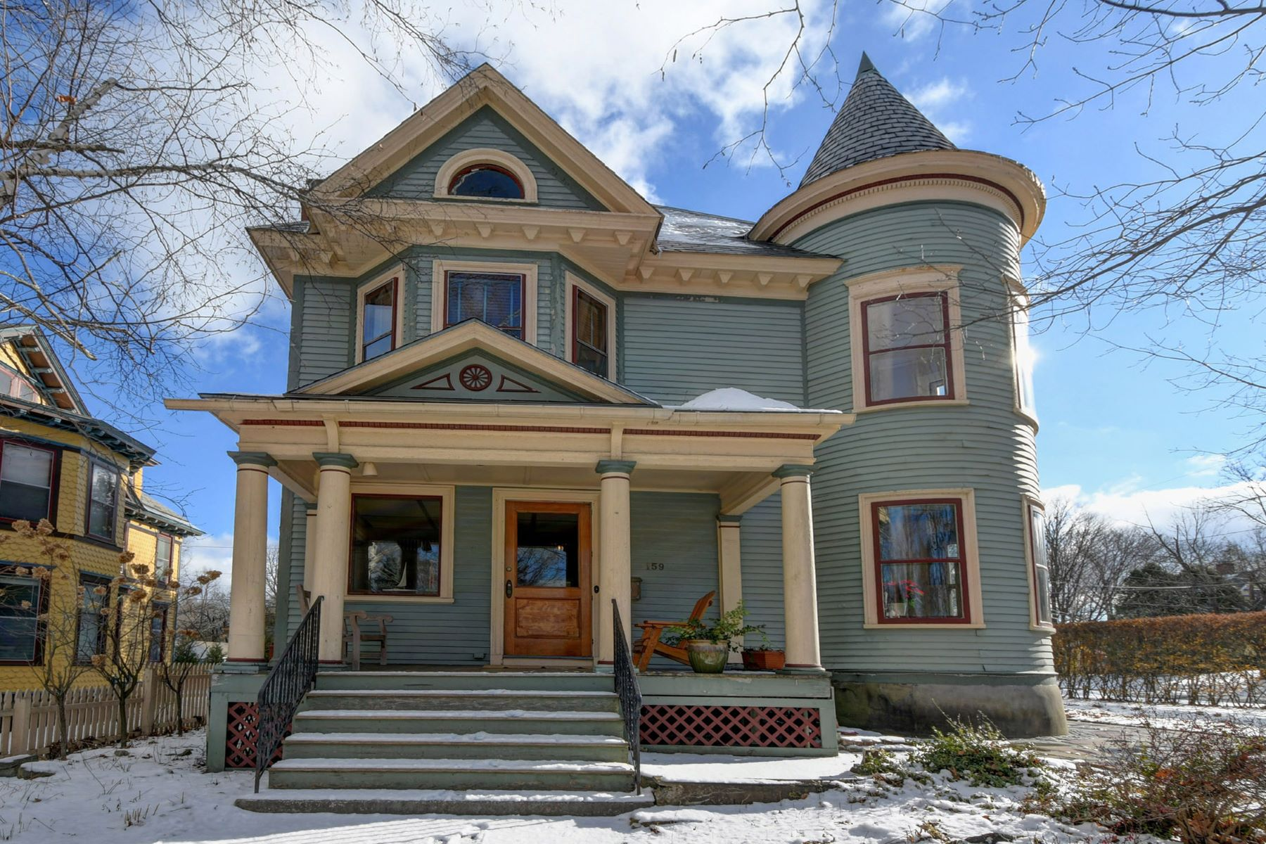 Single Family Home for Active at Gracious and Elegant Victorian in Downtown Cultural District 159 Wendell Ave Pittsfield, Massachusetts 01201 United States