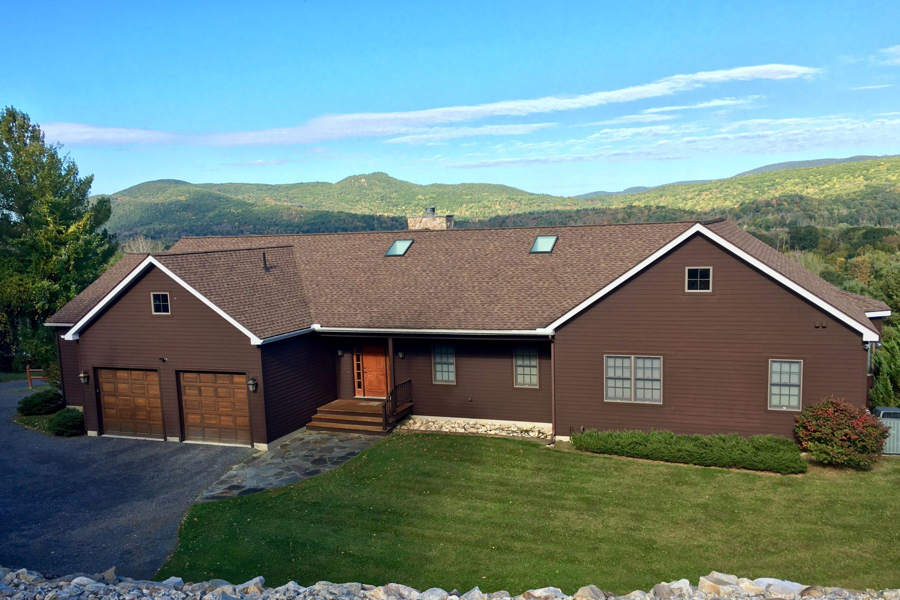 Single Family Home for Sale at Pristine Mountaintop Estate 55 Kalliste Hill Rd Great Barrington, Massachusetts 01230 United States