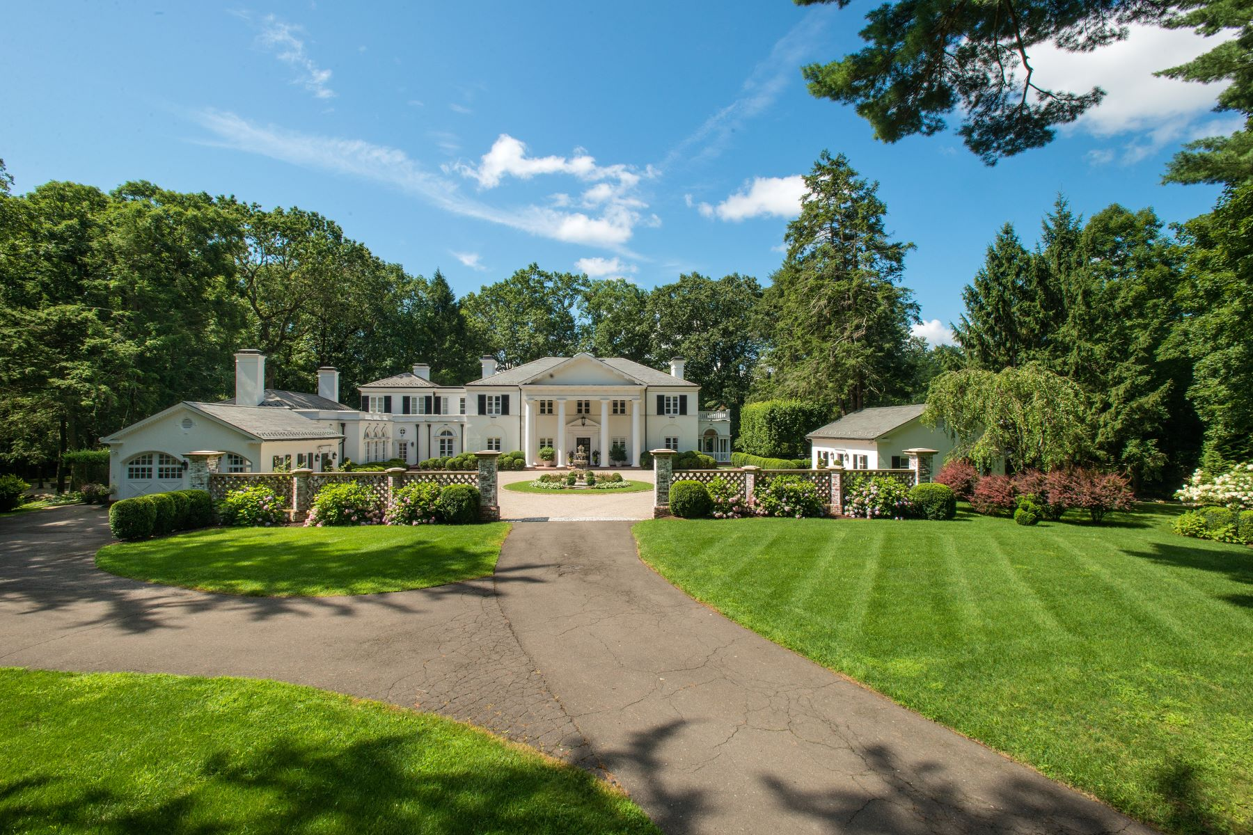 Single Family Homes for Active at 99 Huckleberry Hill Road New Canaan, Connecticut 06840 United States