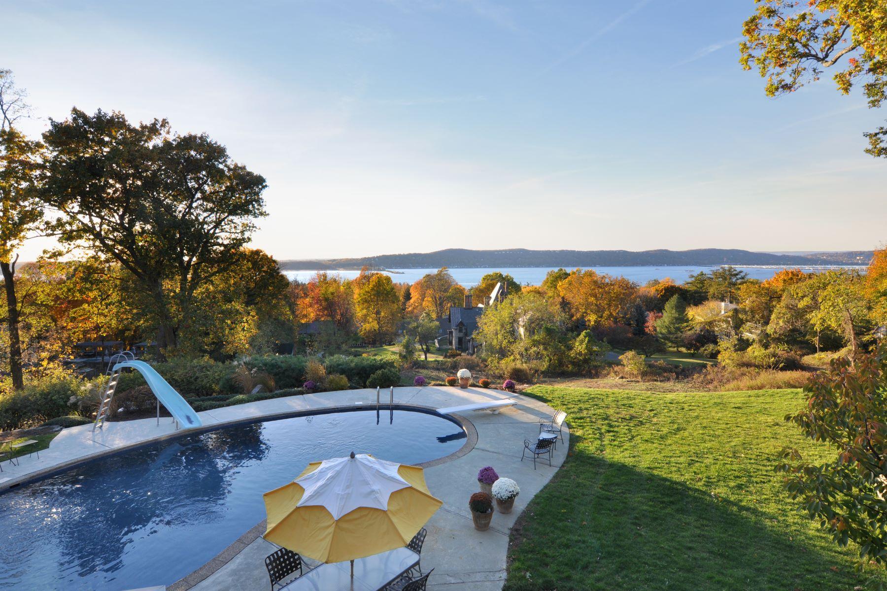 Частный односемейный дом для того Продажа на Breathtaking Views! 7 Irving Place Irvington, Нью-Йорк, 10533 Соединенные Штаты