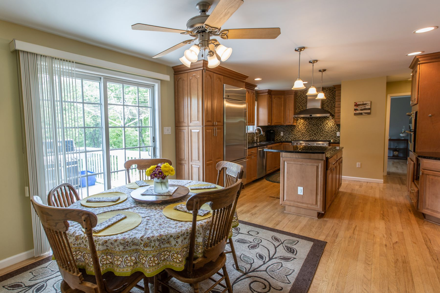 single family homes for Sale at Comfortably Sized Colonial 86 Stadley Rough Road, Danbury, Connecticut 06811 United States