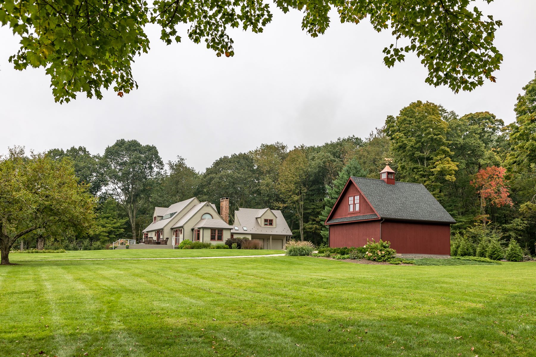 Single Family Home for Sale at Extraordinary Contemporary with 4.9 acres 15 Maple Ridge Litchfield, Connecticut 06759 United States