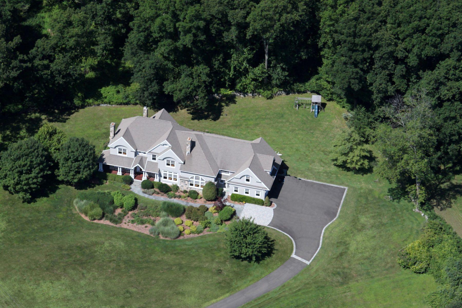 Частный односемейный дом для того Аренда на 125 Nod Hill Road Wilton, Коннектикут, 06897 Соединенные Штаты