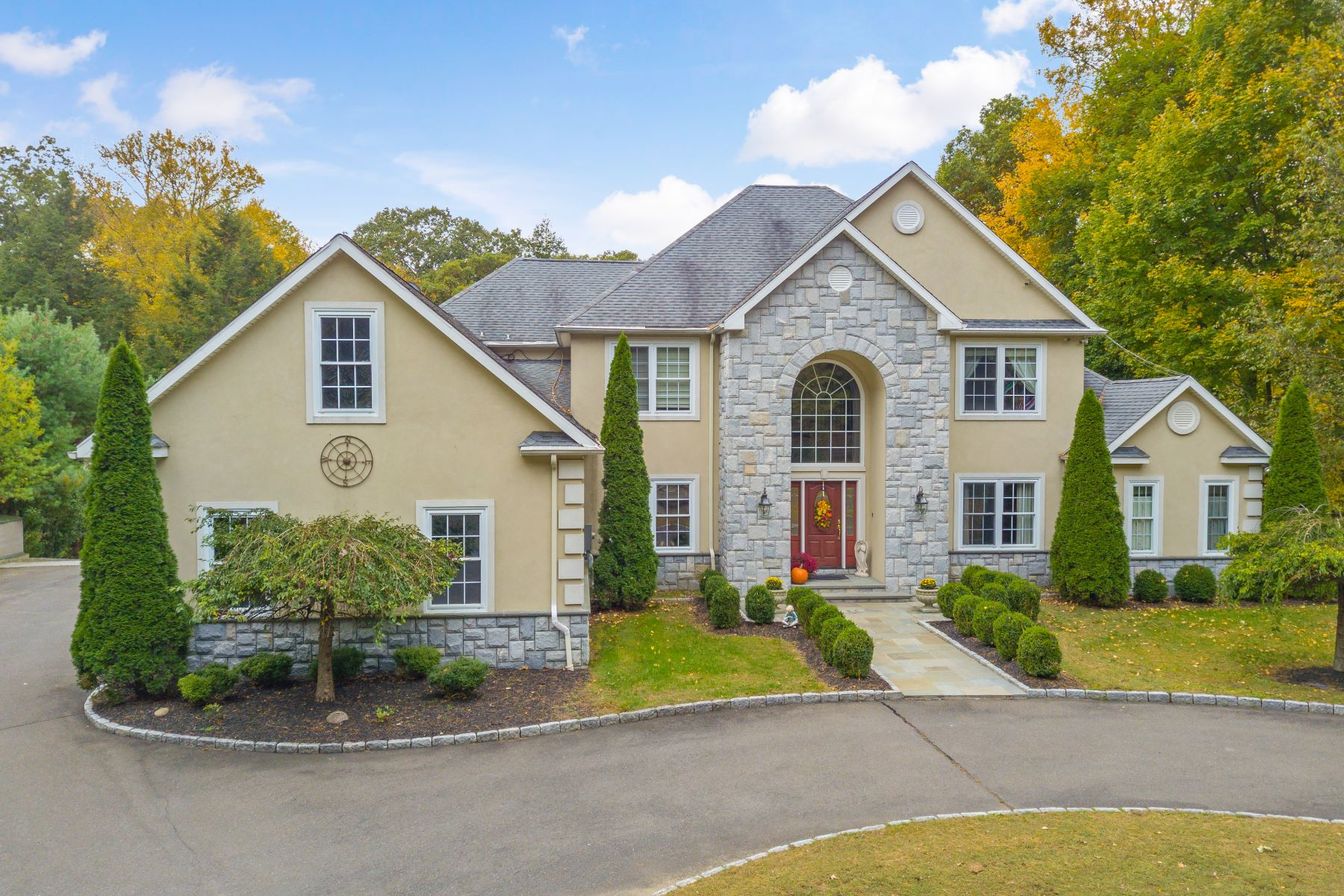 Single Family Homes for Sale at Custom Built European Colonial 37 Turkey Plain Road Bethel, Connecticut 06801 United States
