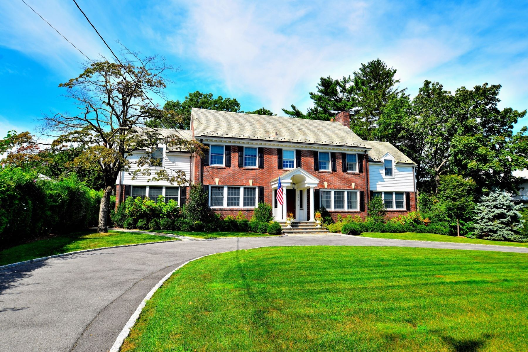Single Family Home for Sale at Solid Brick Colonial 157 Jackson Avenue Pelham, New York 10803 United States