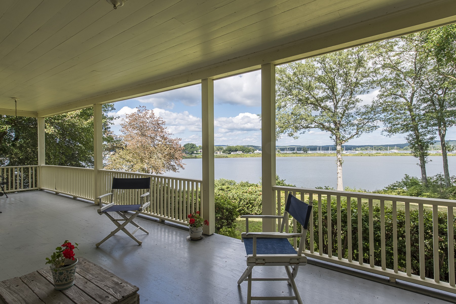 Single Family Homes for Sale at Direct Waterfront on 3.5 Acres 101 Saybrook Road Essex, Connecticut 06426 United States