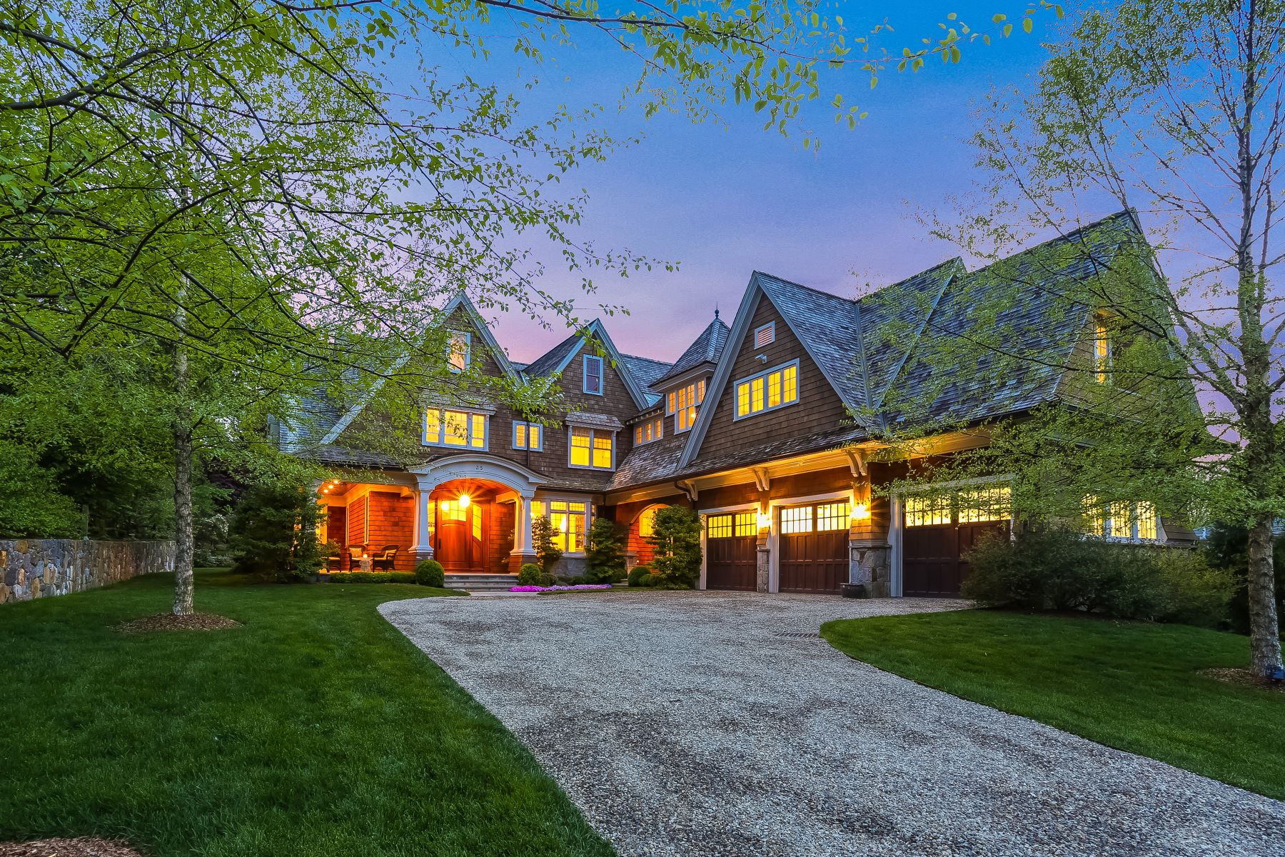 single family homes for Sale at Custom Built Nantucket Style Home in Desired Compo Beach 35 Burnham Hill, Westport, Connecticut 06880 United States