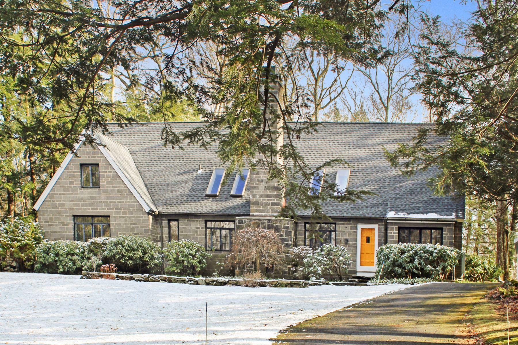 Single Family Homes för Försäljning vid QUINTESSENTIAL NEW ENGLAND CAPE COD 4 Old Oscaleta Rd, Ridgefield, Connecticut 06877 Förenta staterna