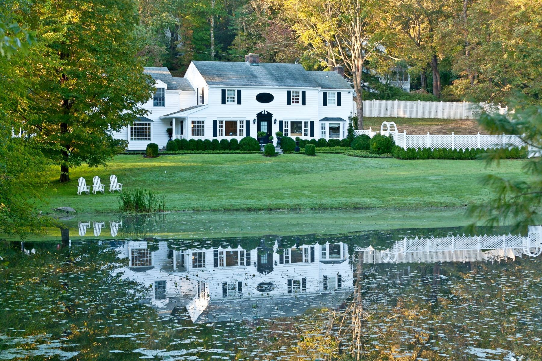 Single Family Homes for Sale at Exceptional Retreat Like Setting 4 Bittersweet Lane Mount Kisco, New York 10549 United States