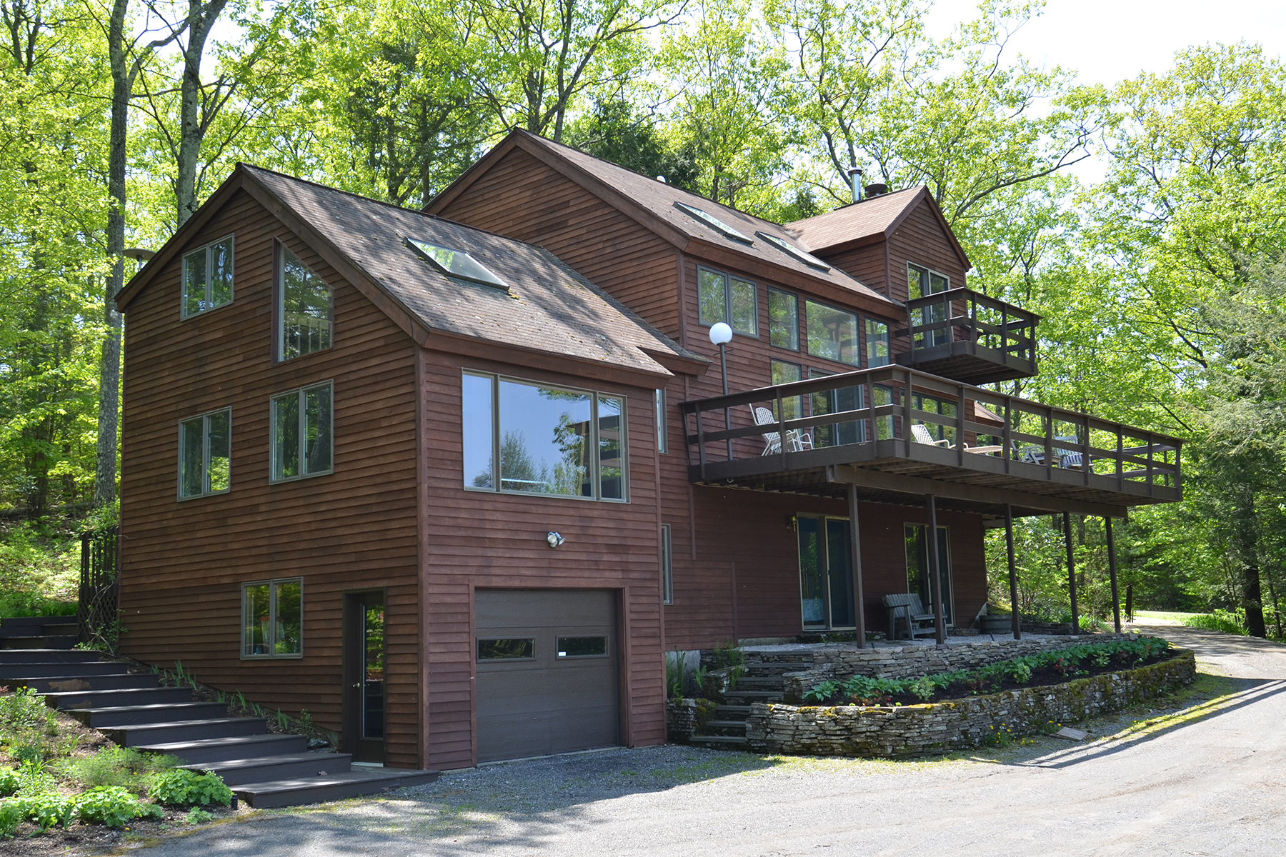 Maison unifamiliale pour l Vente à Mountain Top Perch 6 Cunningham Hill Rd Canaan, New York 12029 États-Unis